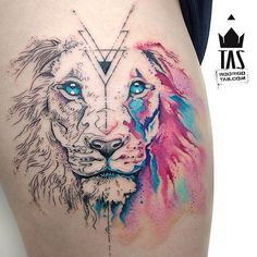 Mayo Lion... #rodrigotas #tas #usoelectricink #electricink #dotworktattoo…