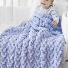 Şiş Bebek Battaniyesi Örgü Modelleri 3