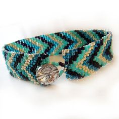 Luxurious and Sexy friendship bracelet handmade with best quality glass beads in several turquoise , teal blue , silver and black colors ! An