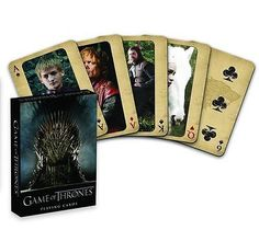 Game of thrones - playing cards - 1st #edition #(officially #licenced),  View more on the LINK: 	http://www.zeppy.io/product/gb/2/141859179441/