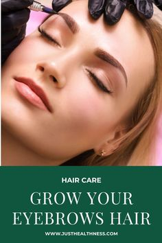 The eyebrows are similar to the hairs on our head – they are made of keratin and amino acids which keep them strong. Eyelashes, Eyebrows, Hair Hacks, Hair Tips, Home Remedies For Hair, Beauty Hacks, Beauty Tips, Keratin, Amino Acids