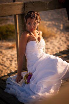 Creative Bridal Portrait by @ http://fabioazanha.com/