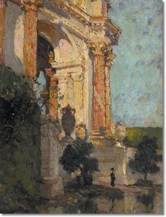 Colin Campbell Cooper, Palace of Fine Arts San Francisco, CA, 1915