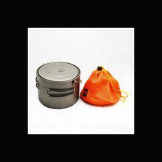 Toaks Titanium Gryde 1,6 l. - Båludstyr & kogegrej - Bushcraft Danmark