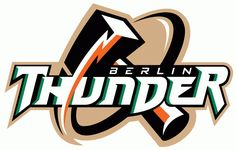 """This is the logo of """"The Berlin Thunder"""", which was a professional American football team in NFL Europe. Description from hscripts.com. I searched for this on bing.com/images"""