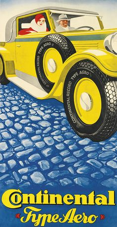 pneu Continental Type Aero - illustration de Henze -