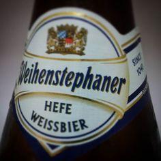 Weihenstephaner Heff Weissbier a receita de cerveja mais antiga do mundo datada de 1040. #Weihenstephaner #1040 #Weissbier by diegonogare