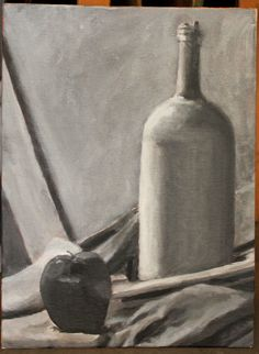 Achromatic Still Life Project 1 of 2 for Painting I