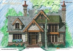 Mountain Cottage   Natural Element Homes