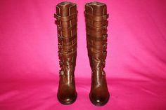 "Matisse ""Pepper"" Brown Buckle Boots Womens Size 11 | eBay"
