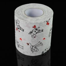 Love this dairy cow print toilet paper! Fun for the guest bathroom or to give as a gag gift to a cow loving friend. Insert your cow toilet paper jokes here __________________...