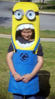 Best DIY Minion Costume Ever!... This website is the Pinterest of costumes
