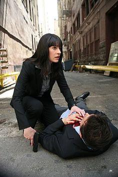 Paget Brewster in Criminal Minds