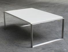 Loungetisch Betontisch Beton Stahl Grey Elegant Wohnzimmer Idealhome