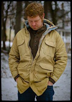 Woolrich 60/40 Parka Size Medium Long  Check by TheThreadLocker, $80.00