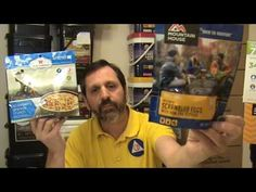 Difference between Mountain House and Wise Freeze Dried Food Survival Videos, Survival Food, Freeze Drying Food, How To Make Fire, Water Storage, Frozen, Make It Yourself, Mountain, Youtube