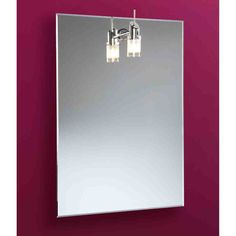 Heated Bathroom Mirror With Light