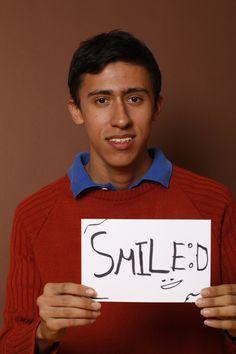 Smile, Francisco Sanchez, Estudiante, Escobedo, México.