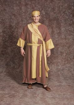 $20.00 Wise Man #2 gold tunic, maroon over tunic, 2 gold sashes (textured, plain)