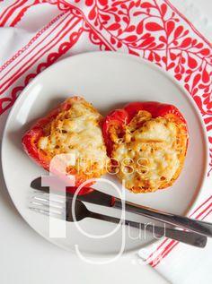 Pečené papriky plnené kuskusom