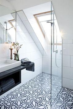 best black and white interior design ideas to transform your home . - best black and white interior design ideas to transform your home # - Loft Bathroom, Bathroom Renos, Bathroom Flooring, Bathroom Interior, Small Bathroom, Modern Bathroom, Bathroom Remodeling, Bathroom Large Tiles, Bathroom Black