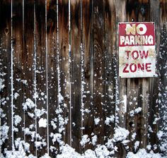 Signpost Wooden Fence With Snow Texture Backgrounds