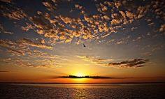 03-12-14 Sunrise, Apalachicola Bay, Florida. (c) John B. Spohrer, Jr.