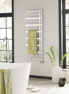 Introducing the Vogue Keys II Heated Towel Rail, also known as the Aestus Ast, which brings a contemporary and minimalist design with crisp clean lines. The Keys II allows towels to be hung effortlessly onto its rails depending on your requirements. Completed with a 15 year guarantee and a 2 year warranty on electrical components. Prices from £295.20!