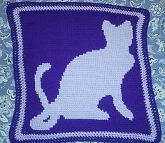 This is a Graphghan Crochet Pattern of 65 x 65 blocks that includes Graph Chart and Written Instructions. Gauge using a 5.0(H) hook is 4 stitches per inch. If you increase your size hook your gauge will increase. Note: Try doing a small square of 10 x 10 to determine preferred gauge for project