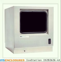 IceStation ID282626-4x NEMA 4X desktop pc enclosure: Your PC would be rendered useless without your monitor! The same enemies that can harm your PC - dust and liquids, can also damage your monitor. Protect both your PC and monitor in an all-in-one NEMA rated enclosure.
