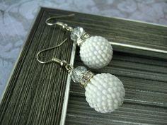 Seed Beaded Earrings  Beaded by HandMadeInUa
