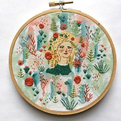 Textiles / Embroidery - Abigail Halpin