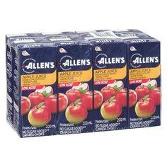 Allen's Low Acid Apple Juice