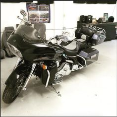 """Customized Harley Road Glide Screaming Eagle seat. We lowered the rider about 1"""" and pushed back as well as raised back slightly for back support. As well as widening the rear seat and adding a gel comfort pack for comfort. #tbt #throwbackthursday #harley #harleydavidson #gelseat #screamingeagle #roadglide #motorcycle #customseat #instamotor #instabike #ridetolive #livetoride #harleynation #harleydavidsonmotorcycles #ctbikelife"""