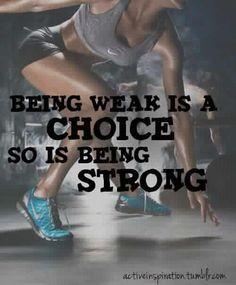 its a choice