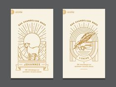 Second book in the series. This one about the Gospel of Luke. Check also the attachments for the full artwork and all the details. The client wanted a writing hand with feather on the cover. Logos, Typography Logo, Game Design, Web Design, Branding Design, Logo Design, Line Illustration, Graphic Design Inspiration, Line Art