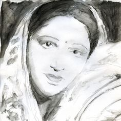 Devika Rani Chaudhuri Roerich (30 March 1908 – 9 March 1994) actress and producer, co-leader of the Bombay Talkies film studios