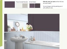 My Colortopia lets you upload a photo to see what your room would look like with any paint color.