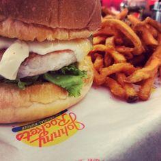 Photo Credit: @Gokula Rajasekhar Rajasekhar Kumar via Instagram #JohnnyRockets #BYOB #hamburgers #AllAmerican #lunch #dinner #eat #customhamburgers #shakes #fries #onionrings #desserts #sandwich #burgers