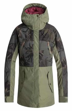 f73d44001f5fc Roxy Waterproof DryFlight® Thinsulate® Insulated Snow Jacket Top Reviews