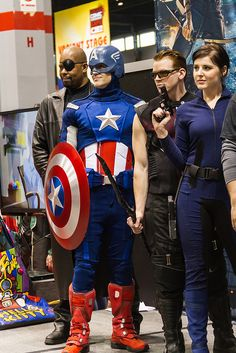 Los Vengadores (The Avengers) #cosplays #superheroes