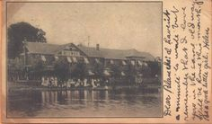 1906 Hotel Midway Conneaut Lake Pennsylvania PA