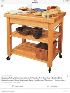 Thick Butcher Block Top Kitchen Cart With Drop Leaf And Wine Rack Beauteous Kitchen Cart With Drop Leaf Review