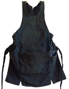 (13) japanese textiles | work apron