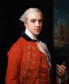 Philip Metcalfe, by Pompeo Batoni c. 1766-67. National Portrait Gallery, London