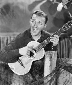 Bing Crosby, he always reminds me of my grandpa...they looked just like each other!