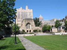 Sterling Library, Cross Campus