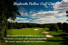 Shepherd's Hollow Golf Club - Daringly Different