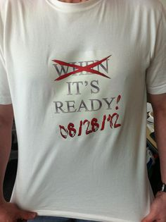 *Our very own Ty King came to work prepared for the Guild Wars 2 launch day announcement on June 28th!