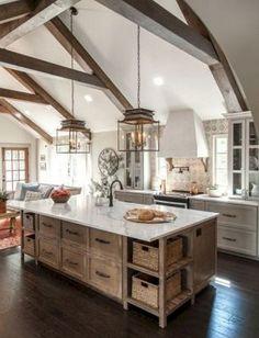 50+ Modern Farmhouse Kitchen Ideas Design_19